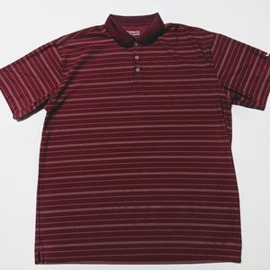 Mens Nike Golf Fit Dry XXL Red Polo